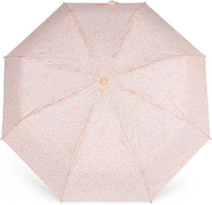 Paraguas Plegable Kaos Mini Rosa: Amazon.es: Equipaje