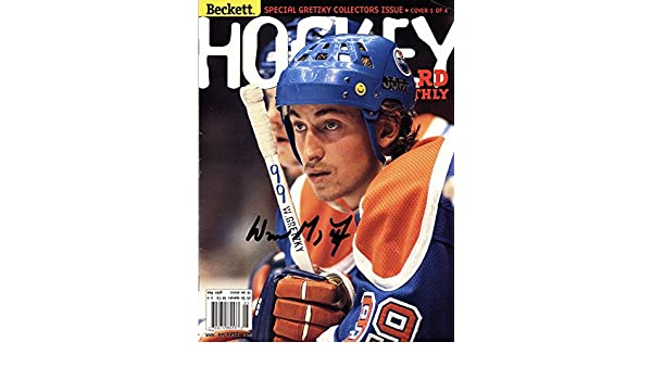 WAYNE GRETZKY Autographed Hand SIGNED BECKETT MAGAZINE EDMONTON OILERS  w COA at Amazon s Sports Collectibles Store e13fcd1cf
