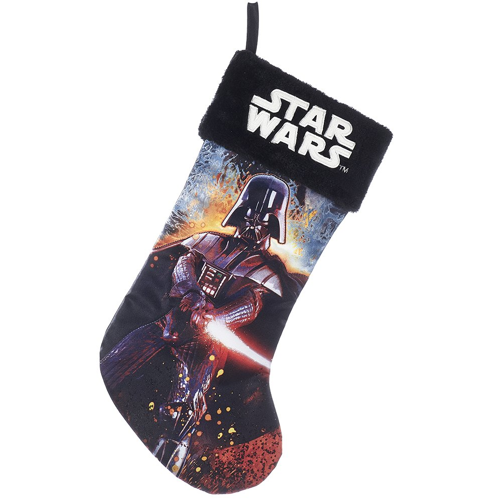 Kurt Adler 19'' Star Wars Darth Vader Printed Stocking