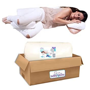 Amazon.com: Bebé funciona el sueño de almohada de embarazo ...