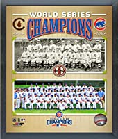 "Chicago Cubs 1908 & 2016 World Series Champions Team Photo (Size: 9"" x 11"") Framed"