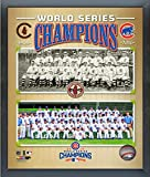 """Chicago Cubs 1908 & 2016 World Series Champions Team Photo (Size: 9"""" x 11"""") Framed"""