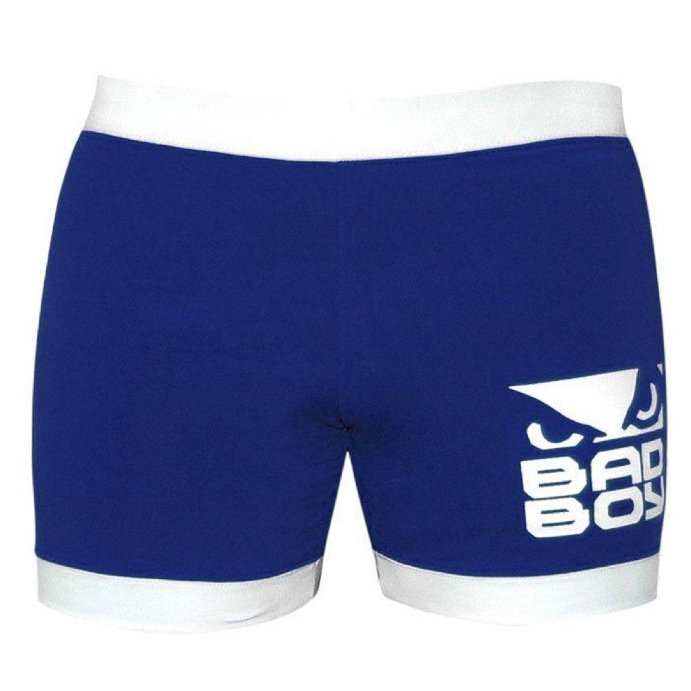 MEXMOB BLUE SHORT SLEEVE VALE TUDO JIU JITSU MMA SURF GRAPPLING RASHGUARD