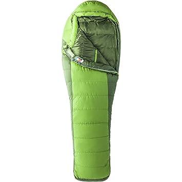 Marmot Adultos Never Invierno Long Saco de Dormir, Cilantro/Tree Green, LZ: Amazon.es: Deportes y aire libre