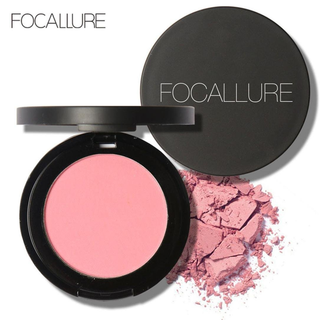 RNTOP Repair Capacity Powder Block Blush Exquisite Rosy Gloss Fine Outline (H)