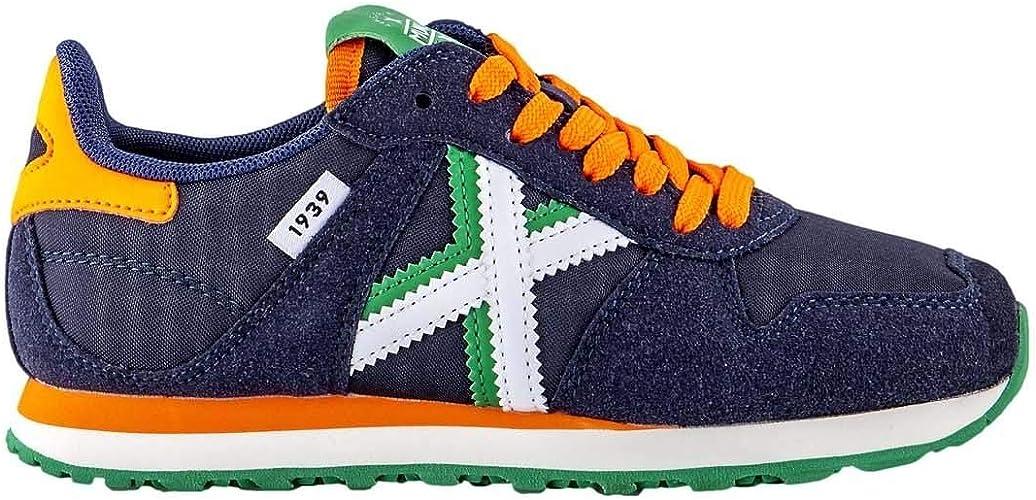 Munich Zapatilla Niã±Os Massana 323 Marino Verde 38: Amazon.es: Zapatos y complementos