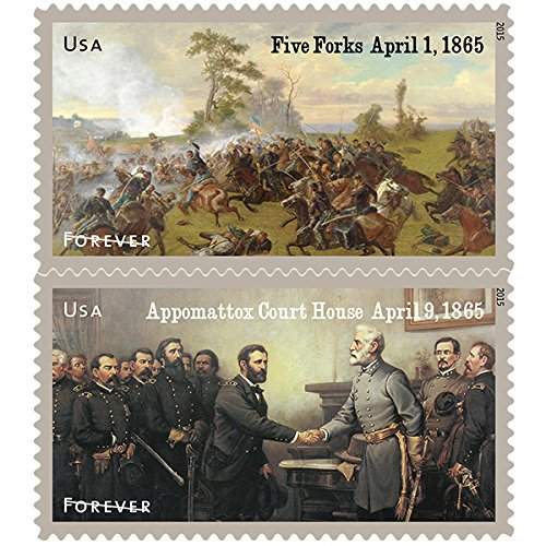 the-civil-war-1865-souvenir-sheet-of-12-usps-forever-stamps