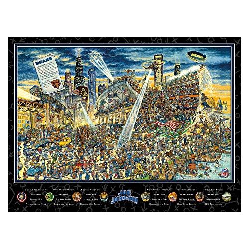 Joe Journeyman NFL Chicago Bears Jigsaw Puzzle, 500-Piece
