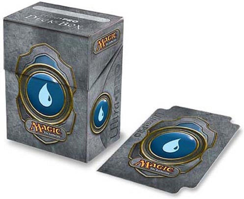 Deck Box: Magic the Gathering: Mana Blue: Amazon.es: Juguetes y juegos