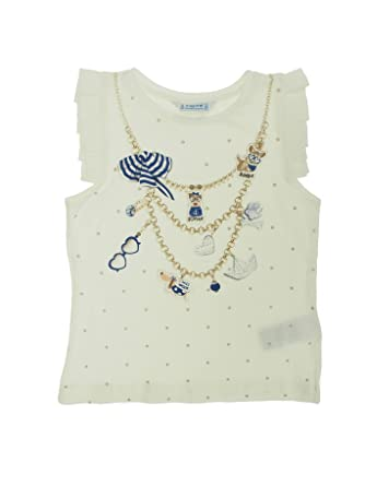 Navy 3044 Tank top for Girls Mayoral