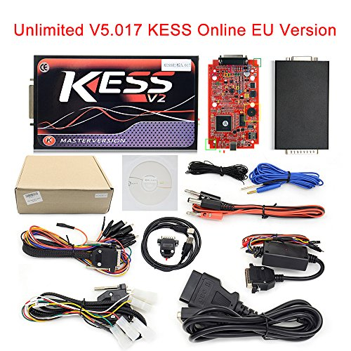 KESS V5.017 SW V2.23 Online EU Version Red KESS V2 Version No Token Limit OBD2 Manager Tuning Kit Car Truck Programmer by AUOTO (Image #6)