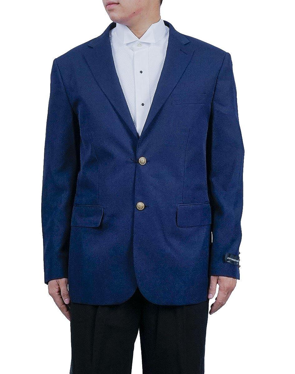 New Era Factory Outlet Mens 2 Button Royal Blue Blazer