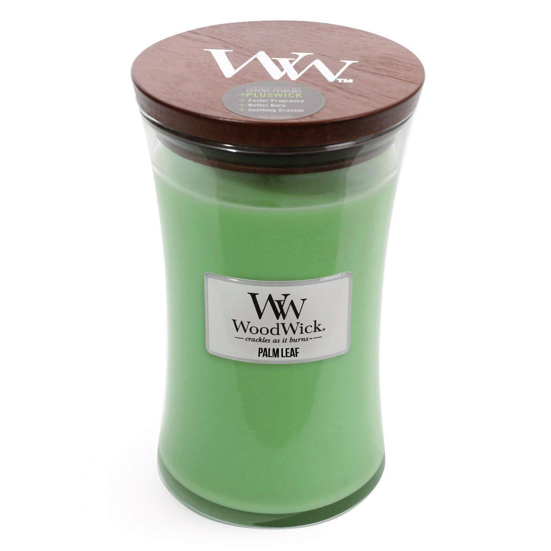 ー品販売  Palm Leaf WoodWick 22 oz Large砂時計Jar B075SV148T Candle Burns oz 180時間 22 B075SV148T, 来夢堂:853f52fb --- a0267596.xsph.ru