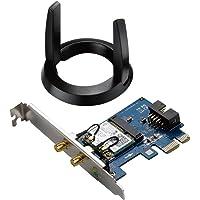 Asus Pce-ac55bt Carte Réseau Pci Express Wi-fi Ac 1200 Mbps Double Bande + Bluet ooth 4.0