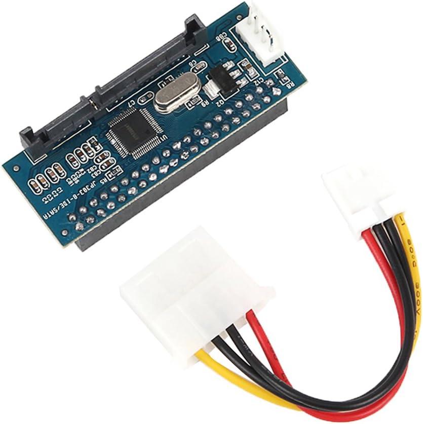 Baoblaze Adaptador SSD//SATA a IDE Todos Dispositivos SATA admiten IDE F/ácilmente 3.5 Pulgadas