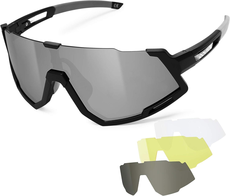 Sports Cycling Eyewear Bicycle Bike Goggles Glasses UV400 Polarized Sunglasses