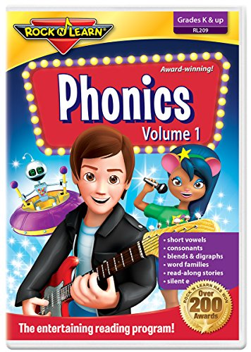 Phonics Volume 1 DVD by Rock 'N Learn