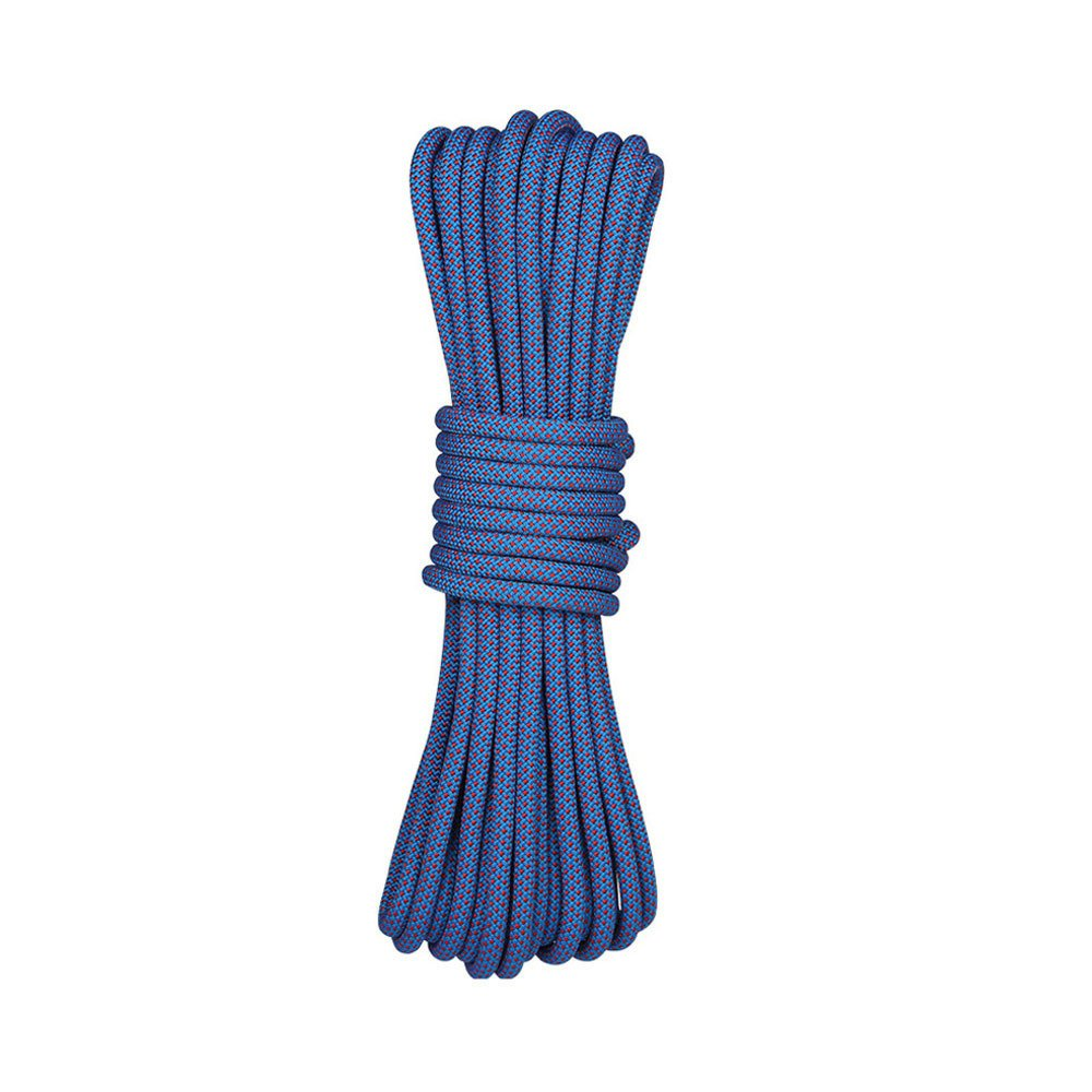 LDFN Rock Climbing Rope Rappelling Rope Rescue Rope Wear Rope Outdoor Rope Equipment,Blue-50m8mm