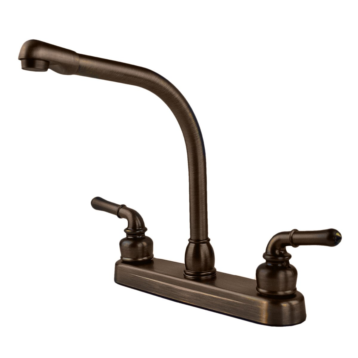 RV Mobile Home High Rise Kitchen Sink Faucet, Oil Rubbed Bronze