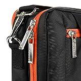Laptop Hybrid Shoulder/Messenger Orange Bag for