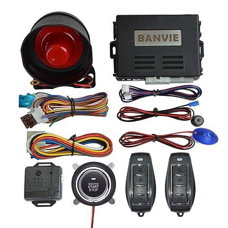 Sistema de Alarma de Seguridad automático BANVIE con botón ...