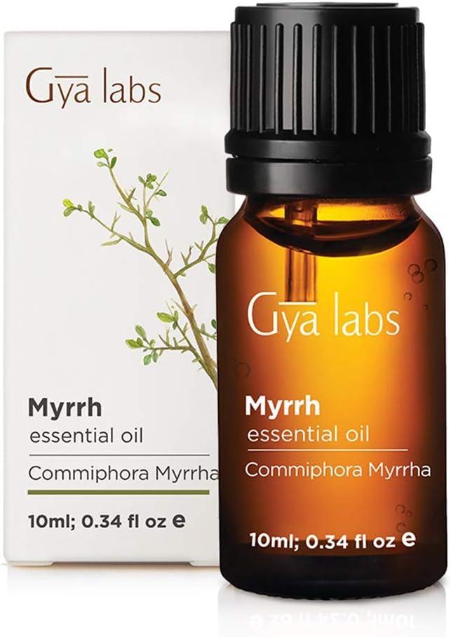 Aceite esencial de mirra 10 ml, 100% puro, grado terapéutico Gya Labs