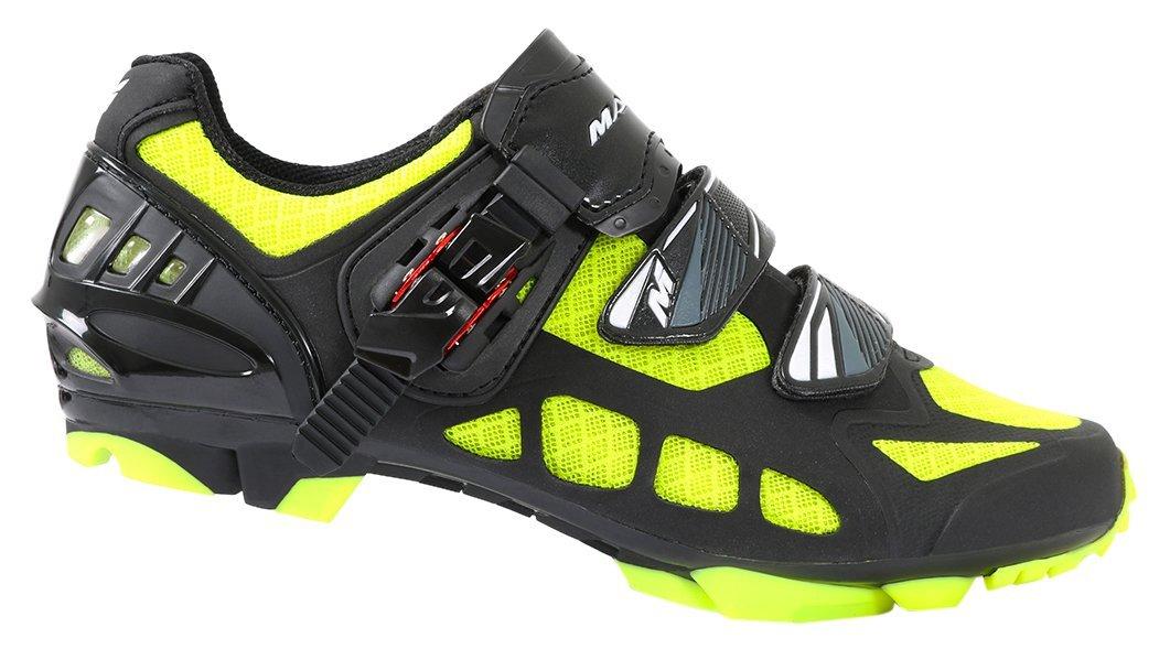 Massi Nexus Kimera–Chaussures, Noir/Jaune Homme 44 MAT5B #Massi