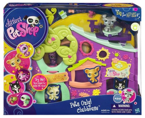 Hasbro Littlest Pet Shop Pets Only Clubhouse Playset