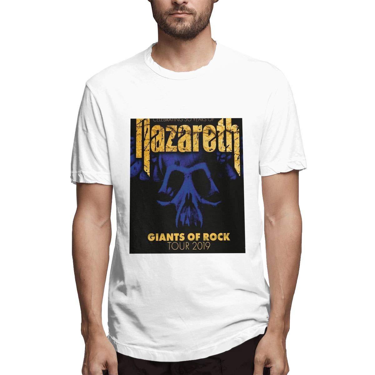 Lihehen Nazareth Retro Printing Round Neck Shirts