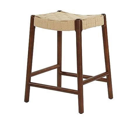 Wondrous Amazon Com Wood Style Furniture Stool Home Office Ibusinesslaw Wood Chair Design Ideas Ibusinesslaworg