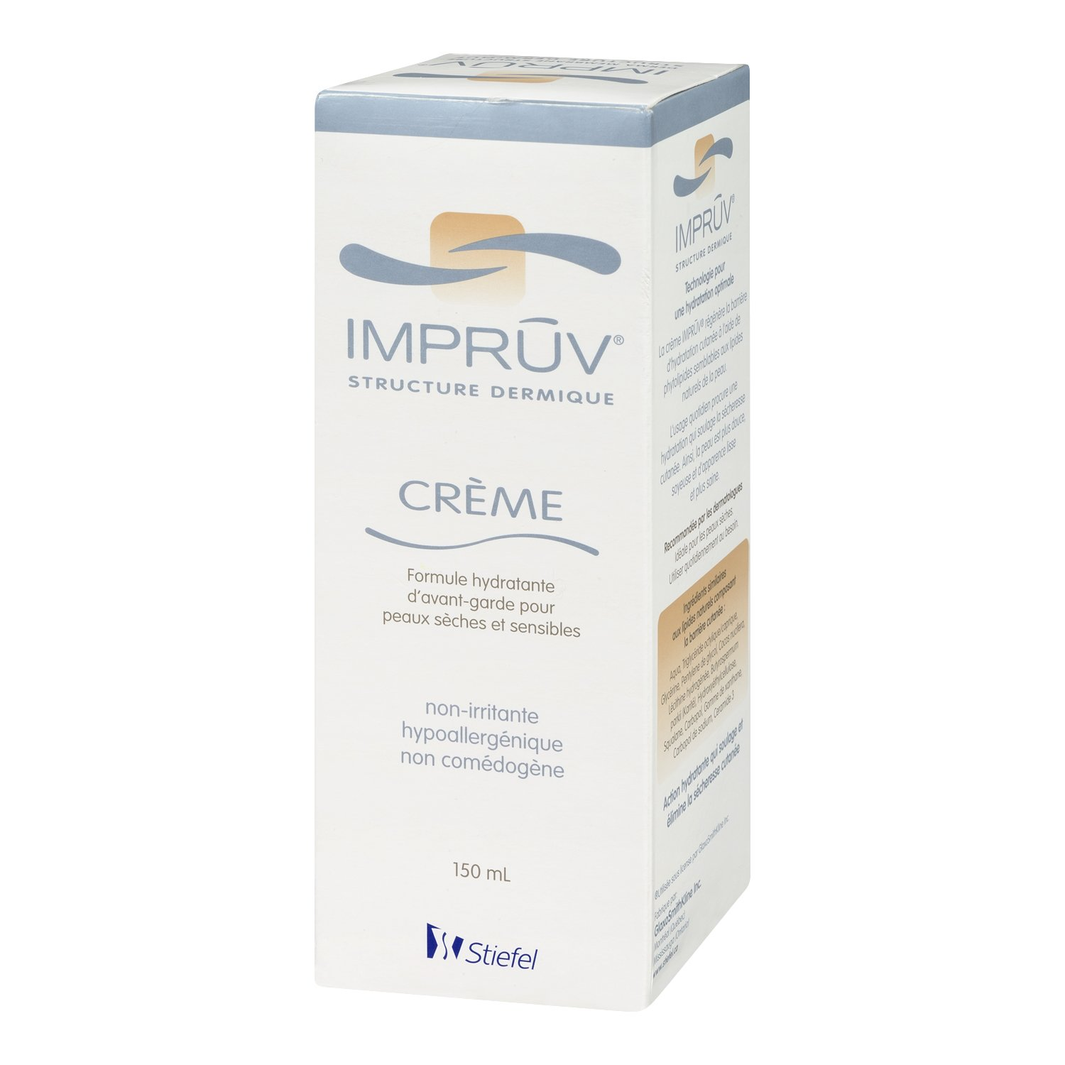 Impruv Non-Irritating Derma Cream Tube for Dry and Sensitive Skin, 150ml