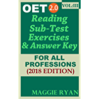 OET Reading For All-Professions by Maggie Ryan: Updated 2018 OET 2.0, Book: VOL. 3 (OET 2.0 Reading Books by Maggie Ryan)