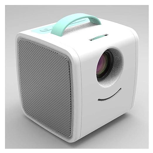 Máquina portátil de mini proyección Proyector LED a todo color ...