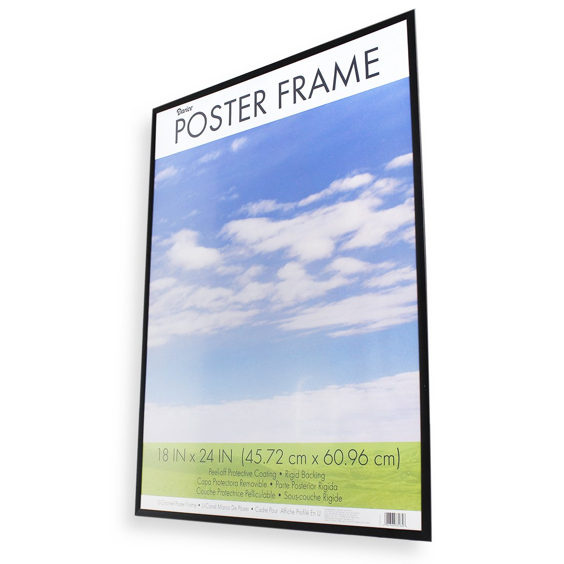 Amazon.com: DAX N16018BT Coloredge Poster Frame with Plexiglas ...