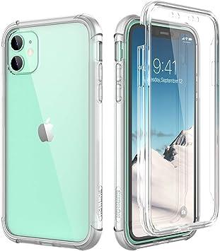 Funda iPhone 11 360 Silicona Trasera policarbonato Transparente