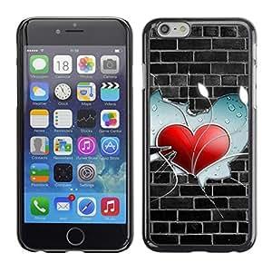 Cubierta de la caja de protección la piel dura para el APPLE IPHONE 6PLUS (5.7) - Deep Message Value Of Life