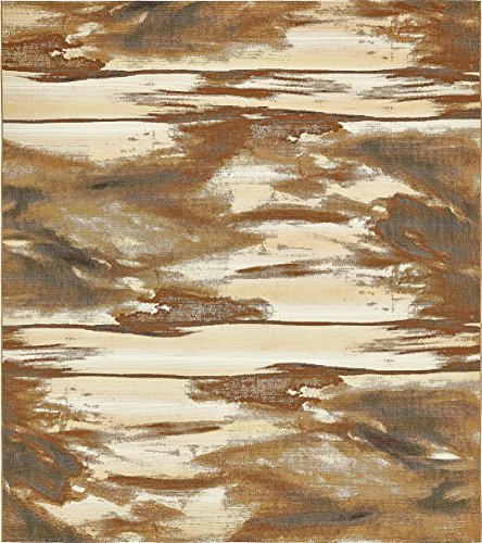 A2Z Rug Indoor/Outdoor Brown 10' x 12' - Feet Marbella Collection Area rugs - Perfect for Outdoor Area's & Indoor
