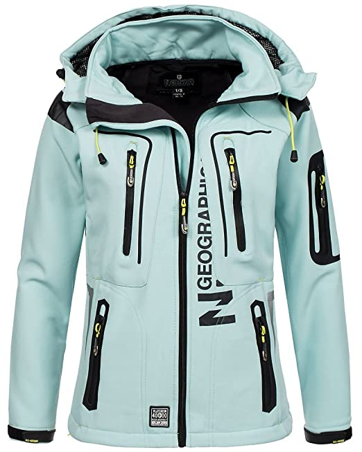Geographical Norway – Chaqueta para mujer tejido softshell ...