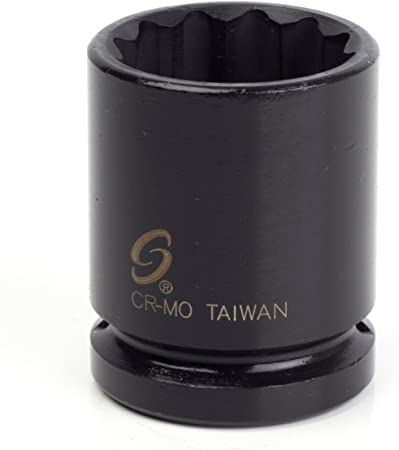 Sunex 440zt 3//4-Inch Drive 1-1//4-Inch 12-Point Thin Wall Impact Socket