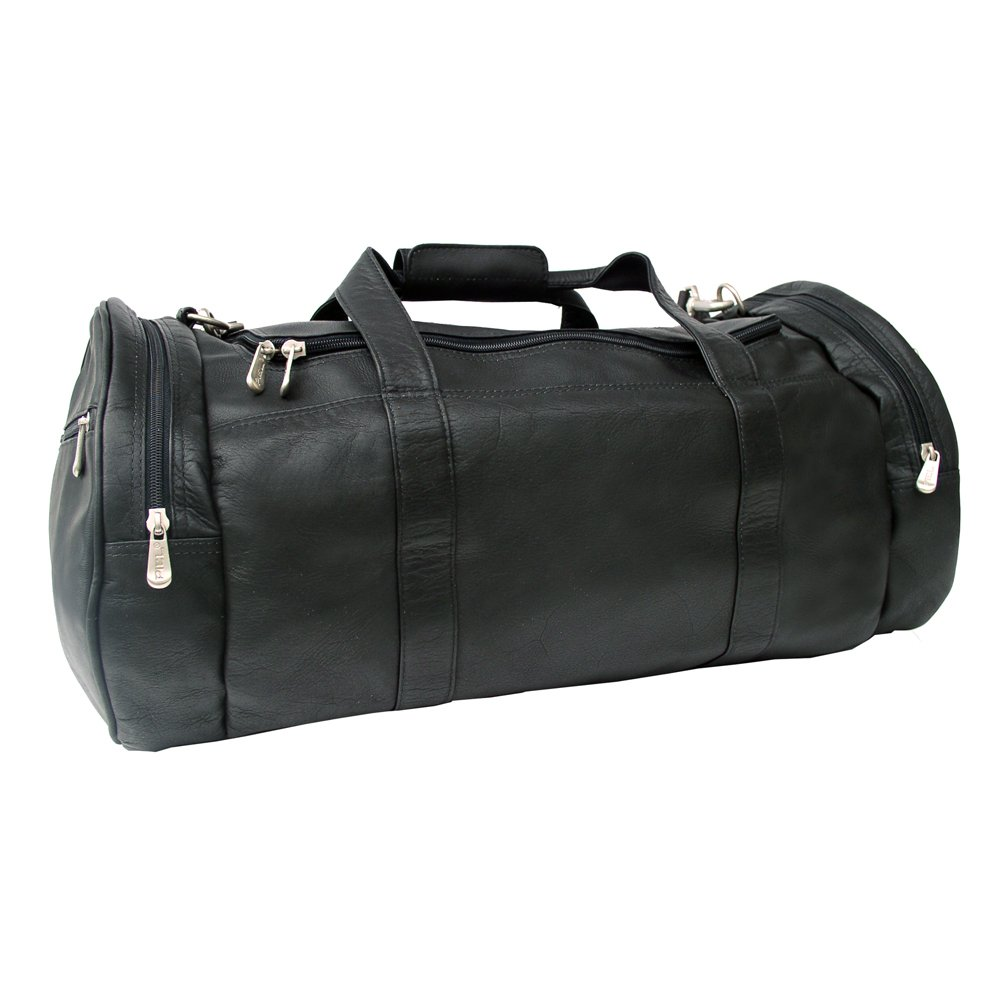 Piel Leather Gym Bag, Black, One Size by Piel Leather (Image #2)