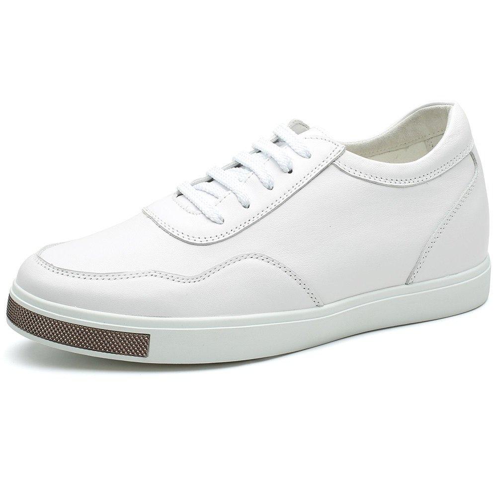 CHAMARIPA(JP) 底上げ靴 身長6cmUP メンズ シークレットシューズ 背が高く ウォーキング カジュアル スケートボード B01D4PSBQ2 27.0 cm ホワイト
