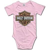 Tuta da Neonato a Maniche Corte con Logo Harley Davidson