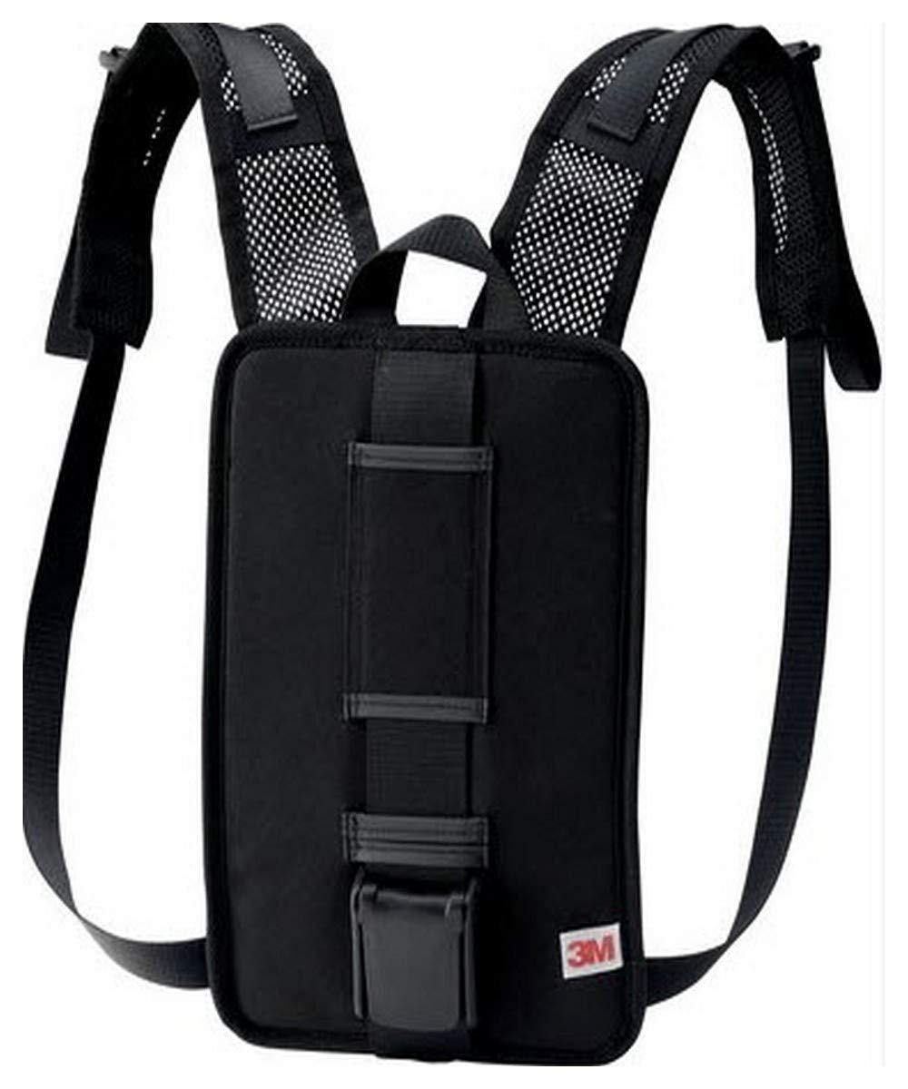 3M 00051131173583 Versaflo Back Pack for TR-600/800 PAPR, Capacity, Volume, Standard, Black by 3M