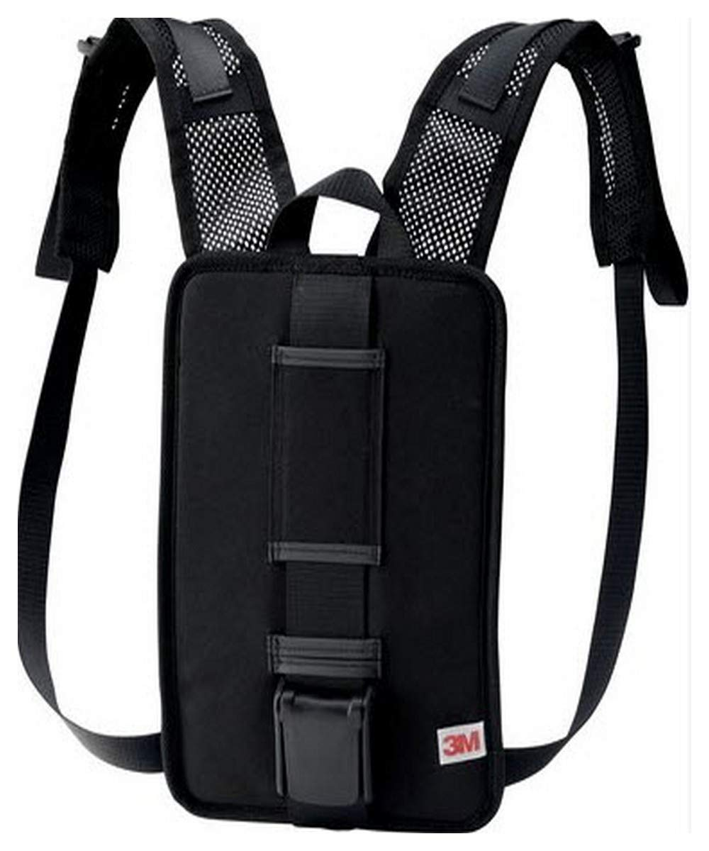 3M 00051131173583 Versaflo Back Pack for TR-600/800 PAPR, Capacity, Volume, Standard, Black