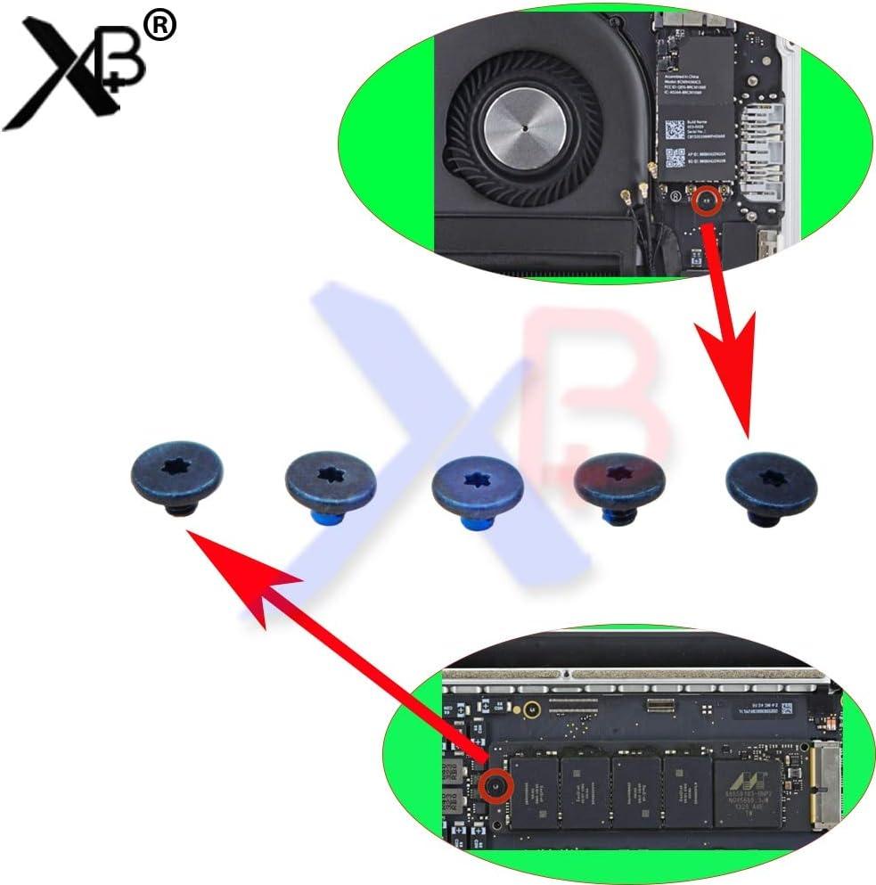 ShineBear 5PCS SSD Hard Drive//WiFi Card Screws for MacBook Air//Retina A1369 A1466 A1370 A1465 A1425 A1398 A1502 Cable Length: 10sets