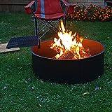 Sunnydaze Wood Burning Fire Pit - Campfire Ring