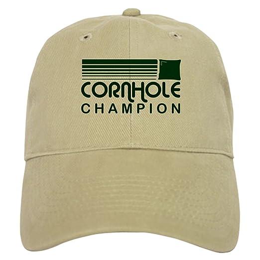 ac299334ab7e CafePress - Cornhole Retro Cap - Baseball Cap with Adjustable Closure,  Unique Printed Baseball Hat