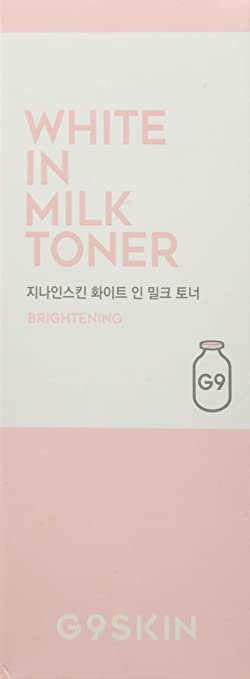 G9SKIN, White in Milk Tonico facial - 1 unidad
