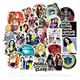 50PCS Riverdale TV Stickers Laptop Computer Bedroom Wardrobe Car Skateboard Motorcycle Bicycle Mobile Phone Luggage Guitar DIY Decal (Riverdale 50)