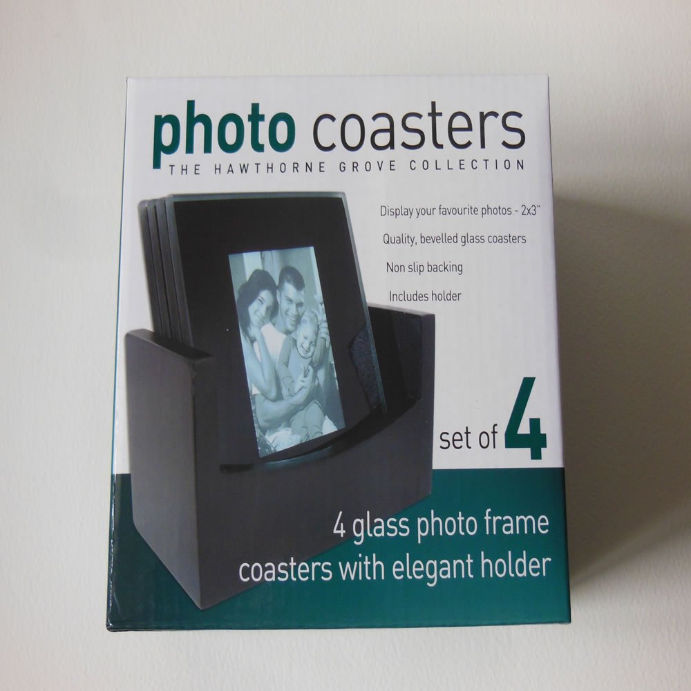 Beautiful Glass Picture Frame Coasters Image - Frame Photo Design ...